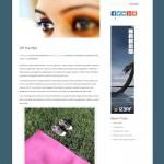 Michele Minehart Blog Screenshot