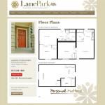 LanePark Floor Plans Screenshot